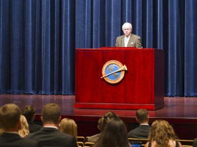 Gerald Flurry - Herbert W. Armstrong College Assembly