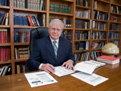Gerald Flurry - At Desk