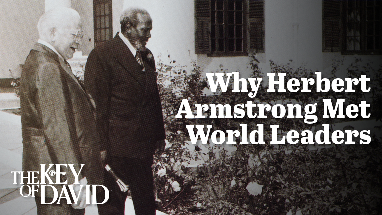 Gerald Flurry - Why Herbert W. Armstrong Met World Leaders